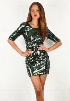Blaque Label Sequin Mini Dress