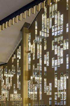 NYU Bobst Library Pixel Veil
