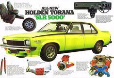 1974 LH Torana SLR 5000 Spec sheet