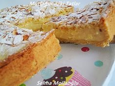 LİMONLU (MUHALLEBİLİ ) TURTA | Mutfak Ve Tatlar