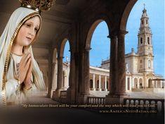 #Wallpaper #Catholic #Mary #Fatima