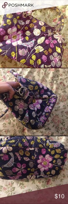 Vera Bradley Purse Vera Bradley Purse in overall decent condition, but this bag has been worn and loved. The handles are a bit faded as well as wear to the bottom corners. I have a matching wallet for this purse in my closet as well. Make offers and ask questions :) Vera Bradley Bags Shoulder Bags