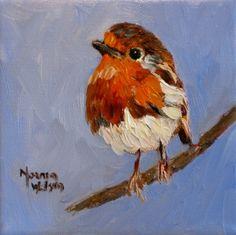 Bird art love