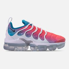 separation shoes 10bf6 a25e9 Right view of Women s Nike Air VaporMax Plus Casual Shoes in Lava Glow Black