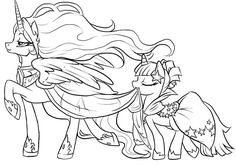 Pretty My Little Pony Coloring Pages from My Little Pony Coloring Pages Printable. Children are certainly very familiar with My Little Pony character and one of them could be a big fan of this cartoon characters. Super Coloring Pages, My Little Pony Coloring, Horse Coloring Pages, Unicorn Coloring Pages, Coloring Pages For Girls, Cartoon Coloring Pages, Colouring Pages, Printable Coloring Pages, Coloring Books