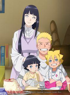 Naruto family // Uzumaki family // NaruHina // Naruto, Hinata, Boruto and Himawari Anime Naruto, Naruto Shippuden Sasuke, Hinata Hyuga, Naruhina, Himawari Boruto, Naruto Und Hinata, Art Naruto, Naruto Cute, Sakura And Sasuke