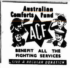Australian Comforts Fund. 9 June, 1943.