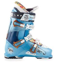 Nordica Ace Of Spades Ski Boot - Men's Light Blue/Dark Blue, 26.5