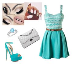 """"""":)"""" by amina-baby ❤ liked on Polyvore featuring ALDO and Bense Bags"""