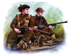 Canadian soldiers of the Cameron Highlanders in Normandy 1944 Military Photos, Military Art, Military History, Canadian Soldiers, Canadian Army, Ww2 Posters, Ww2 Uniforms, World War Two, Wwii