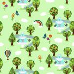 Design - Obstgarten - by Josy, eines der Top10 von der Summertime Stoffparade