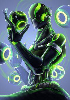 "Zenyatta Imagine Genji saying his goofy line from the game ""that's my style ☆~"" Overwatch Drawings, Overwatch Memes, Overwatch Fan Art, Overwatch Genji, Character Concept, Character Art, Concept Art, Character Design, Overwatch Zenyatta"