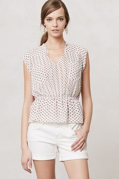 Venn Peplum Blouse - Anthropologie.com