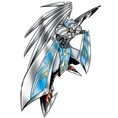GuardiAngemon - Mega level Power digimon