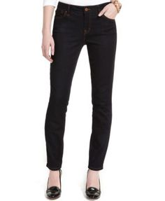 Tommy Hilfiger Classic Fit Skinny Jeans, Rinse Wash-$29.50