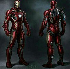 Iron Man Armor Suit Marvel Heroes Comics