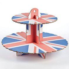 Culpitt 2 Tier Union Jack Cupcake Royal Wedding >>> Click image for more details.