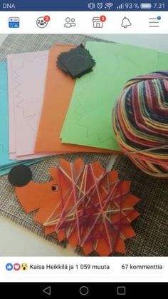 Bis zum Herbst - Fall Crafts For Toddlers Autumn Crafts, Fall Crafts For Kids, Autumn Art, Thanksgiving Crafts, Toddler Crafts, Diy For Kids, Kids Crafts, Arts And Crafts, Paper Crafts
