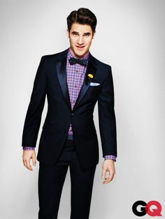 GQ Guy from Glee TV Show