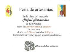 Fería de Artesanías @ Plaza del Mercado, Río Piedras #sondeaquipr #feriaartesanias #plazadelmercado #riopiedras #sanjuan