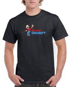Men's Birthday T Shirt Gift - Grumpy 65th Birthday Gift, Tee Shirts, Ideas, Boys, Men, 50th, Party, Baby Boys, T Shirts