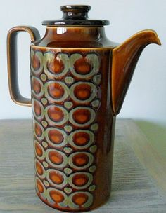 Coffee Pot. Hornsea Pottery. Vintage Hornsea. by Inglitreasures