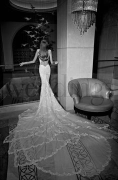 Galia Lahav bridal collection 2015. Tales of the jazz Age. I parte. Madison Back