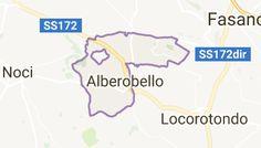 Mappa di: Alberobello Italia