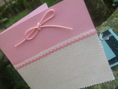 Tarjeta Infantil (Modelo rosa)