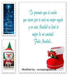 buscar bonitas frases para enviar en Navidad,originales frases para enviar en Navidad: http://www.consejosgratis.es/mensajes-de-feliz-navidad/
