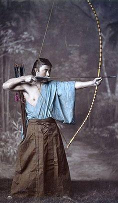 Samurai archer.