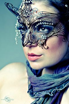 Stunning mask photography
