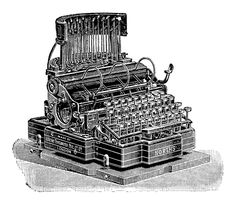 https://flic.kr/p/nEEuHg | Detail from an 1894 North's Typewriter ad