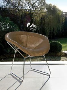 Britain: Memo Chair By Studio Dillon And Manufactured By Lloyd Loom Of  Spalding, 1999