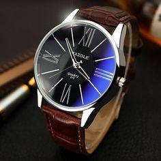 Mens Watches Top Brand Luxury 2017 Yazole Watch Men Fashion Business Quartz-watch Minimalist Belt Male Watches Relogio Masculino //Price: $10.95 & FREE Shipping // #hashtag2 #MensFashionBusiness #menswatchesminimalist