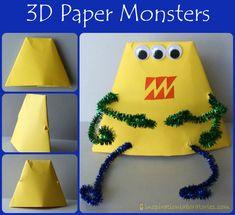 3D Paper Monsters - Inspiration Laboratories