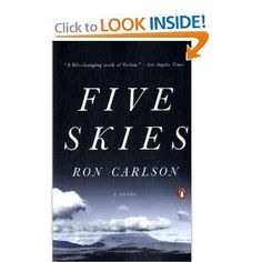Five Skies by Ron Carlson #books #reading