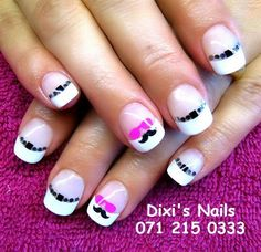 Day 314: Finely Groomed Nail Art - - NAILS Magazine