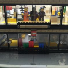 """Modular Lego Store Welcome to the Lego store! """"Hello and welcome, We hope you find all your looking for and if you have any questions please ask."""" This custom modular LEGO store is all my own original design and layout, two floors filled to the brim with some of the most iconic Lego models on display too!! Features include, light up first"""