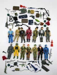 "Lot 100 Pcs Accessory Guns For Star Wars Trooper Gi Joe 3.75/"" Figure Movies Toy"