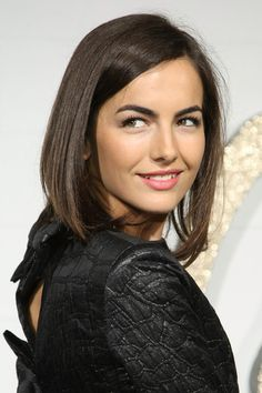 Camilla Belle Hair - Love the longer bob!