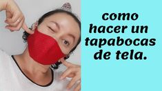 Tapas, Diy Mask, Health And Safety, Face And Body, Sewing Hacks, Make It Yourself, Pattern, Animal Masks, Protective Mask