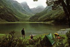 Lake Mackenzie, 1979, New Zealand