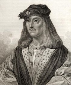 James IV, King of Scotland, Husband of Margaret Tudor, grandfather of Mary Queen of Scots - (17 March 1473 – 9 September 1513) was King of Scots from 11 June 1488 to his death. He is generally regarded as the most successful of the Stuart monarchs of Scotland, but his reign ended with the disastrous defeat at the Battle of Flodden Field, where he became the last monarch from Great Britain to be killed in battle.