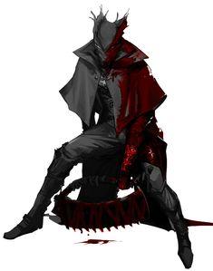 Old Blood, Dark Blood, Fantasy Character Design, Character Concept, Dark Souls 3, Bloodborne Art, Soul Game, Death Art, Fantasy Warrior