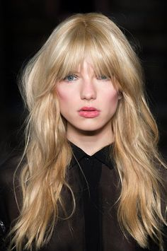 Amazing Long Hair Ideas That Totally Change Your Look - Go bold with shaggy bangs.