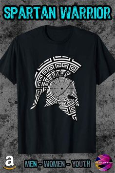 d63f336e Ancient Greek Hero #Spartan Warrior Helmet T-Shirt SOLD! Many Thanks to the