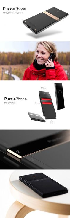 "There is no 'puzzle' to the PuzzlePhone, except that it is a modular smartphone that promises to last you for a long time. You can repair it, upgrade it or customize it to suit your needs, albeit in a sustainable and responsible fashion. Love the company's slogan to shift from ""take, make, and waste"" to ""reduce, reuse, and recycle."" #Phone #Mobile #Design #Innovative #Product #PuzzlePhone #Technology #YankoDesign"