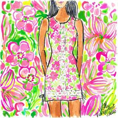 This dress is pink & green #NoMindGames #dressgate #lilly5x5