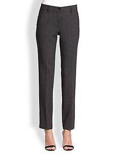 Etro Tapered Wool Stretch Pants